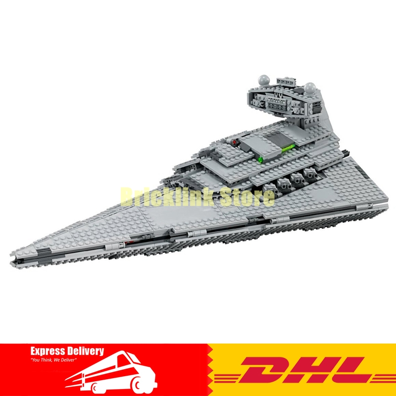 IN-STOCK LEPIN 05062 1359pcs New Star Series Wars The Star Toy Destroyer Set 75055 Building Blocks Bricks Educational Toys