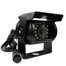 New 4 Pin 800TVL CMOS IR Night Vision Waterproof Car Rear View Reverse Backup Camera for Bus HD