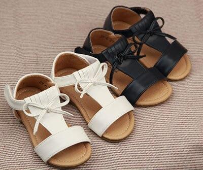 2 цвета жаркое лето кисточкой обувь из натуральной кожи малышей девочки сандалии высокое качество детские мокасины обувь с жесткой подошвой