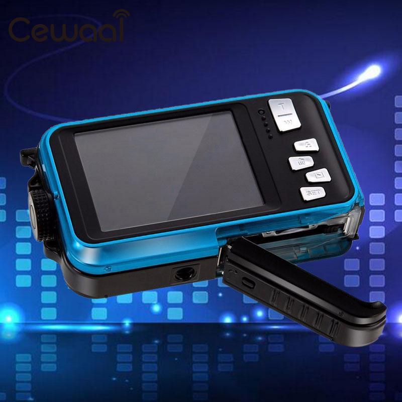 Double Écran Étanche Caméra Vidéo 1080 p Full HD Action Sports DV US Plug