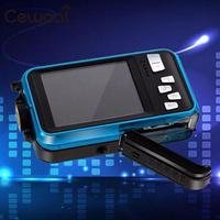Dual Screen Waterproof Camera Video 1080P Full HD Action Sports DV US Plug