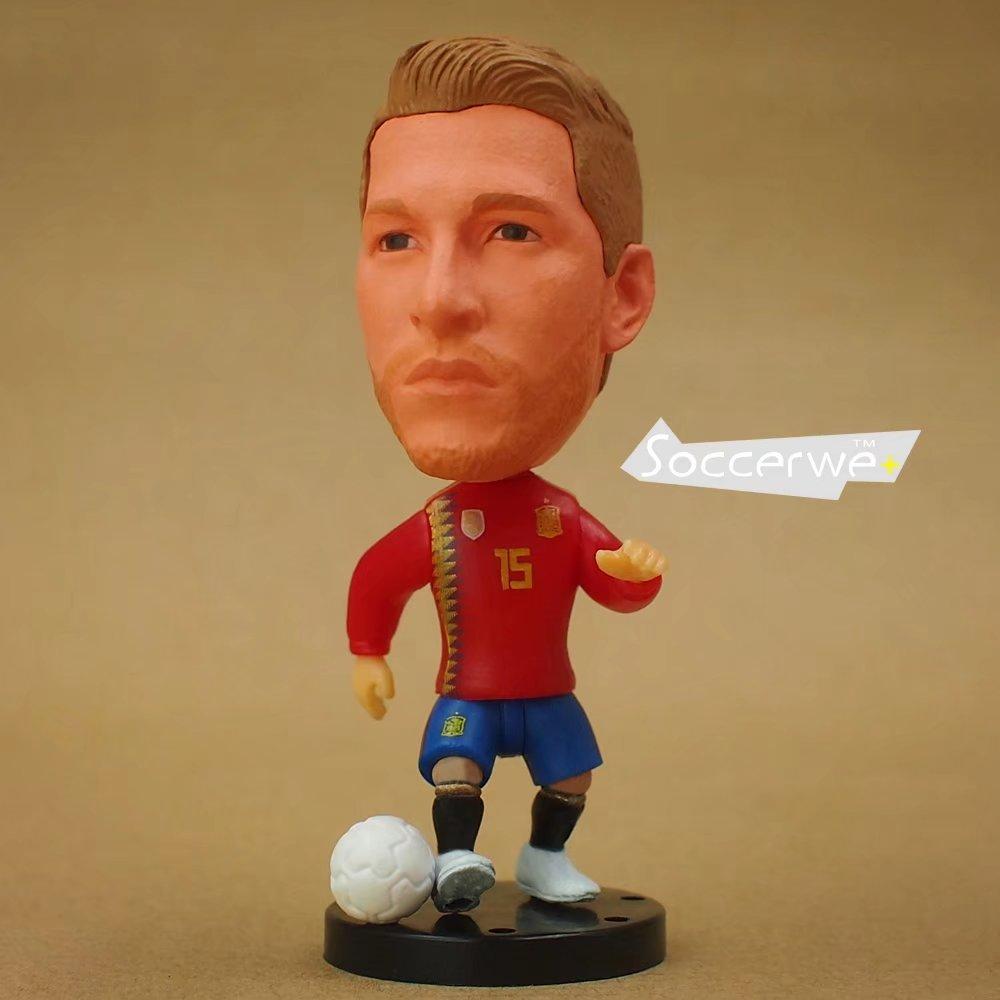 Soccer Player Star 15# RAMOS (ESP+2016) 2.5 Toy Doll Figure