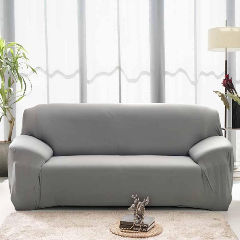 Einfache Feste Sofabezüge Sofagarnitur Fällen Stretch Elastische ...