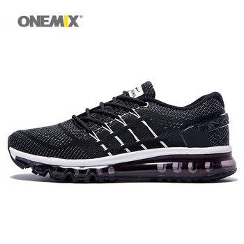 Onemix nuevos hombres zapatos zapato corriendo respirables desig Único  zapatos de la lengua del deporte de gran tamaño 47 de la zapatilla de  deporte f4997a69c7405