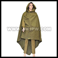 Surplus Soviet Union Camping Awning Russia Army Multipurpose Canvas Raincoat Stealth Suit RU 108201