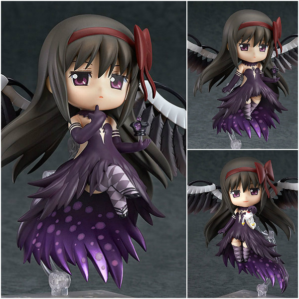Anime Puella Magi Madoka Magica Akemi Homura 456# PVC Action Figures Collectible Model Toys 10cm KT035 a toy a dream 30cm puella magi madoka magica sexy anime action figure pvc collection model toys brinquedos for christmas gift