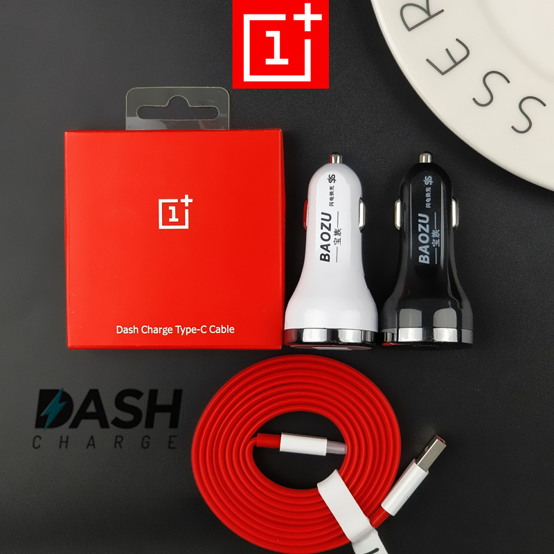 DASH Car charger 5V 4A Dual USB Ports Quick Fast Car Charger Oneplus 5 dash Charge