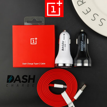 DASH Car charger 5V/4A Dual USB Ports Quick Fast Car Charger Oneplus 6 dash Charge cable For One Plus 5t 5 3 3t mobile phones