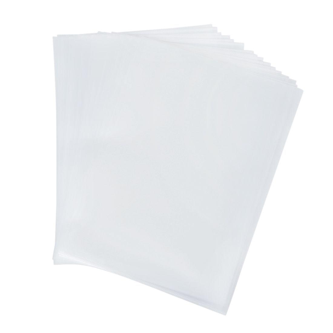 Reusable Clear File Folder Holder for A4 Paper Document 20 PcsReusable Clear File Folder Holder for A4 Paper Document 20 Pcs