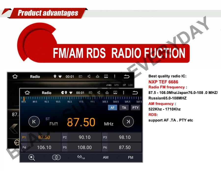 Excellent 4G+64G Android 9.0 Car Radio Multimedia DVD GPS For Chrysler 300C PT Cruiser Aspen Sebring Dodge Caliber Ram Jeep Grand Cherokee 3