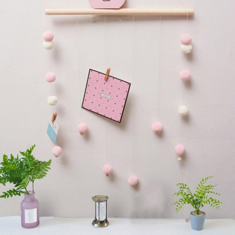 1 Stks Ins Nordic Stijl Kralen Windgong Voor Kinderkamer Baby Bed Opknoping Wind Bell Pasgeboren Geschenken Kwekerij Decor Fotografie Props