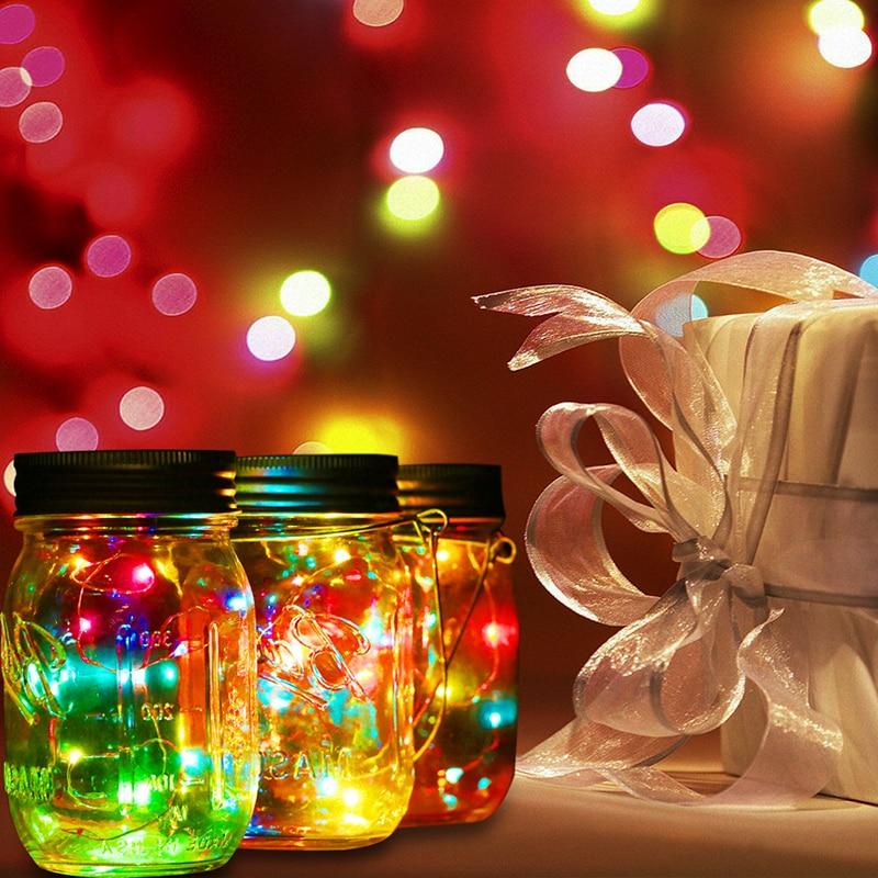 Christmas Decor Color Changing Fairy Light 3 Pcs Solar