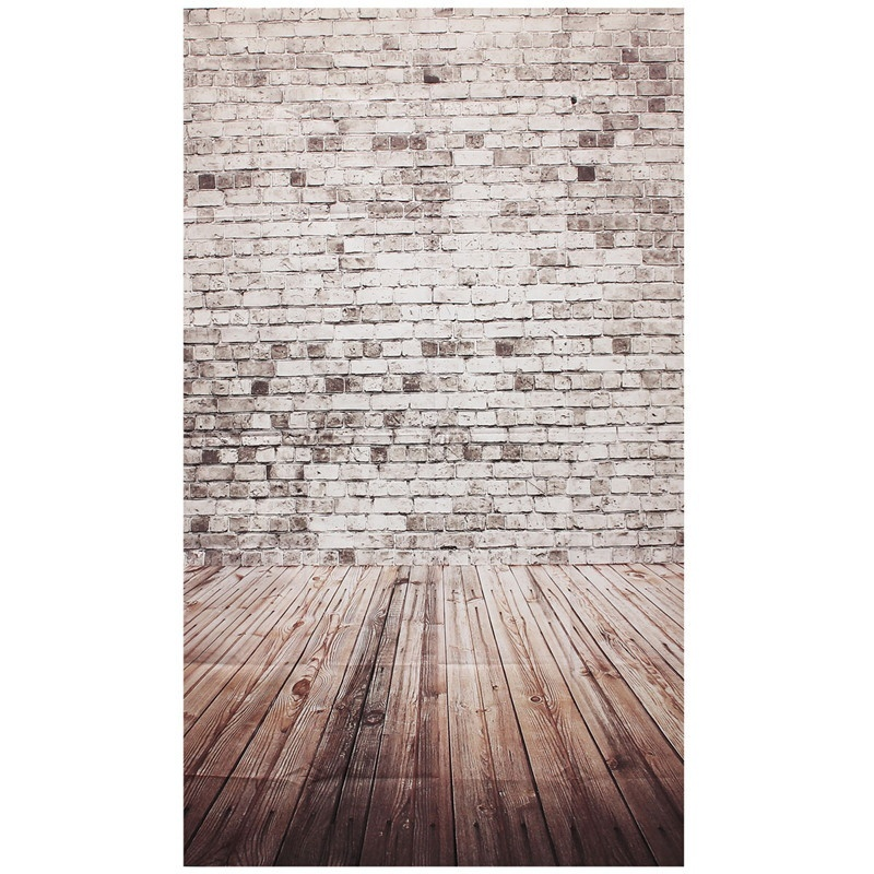 Photography Background Studio Photo Props Thin Backdrop 3X5FT Wood Grain Brick style 1