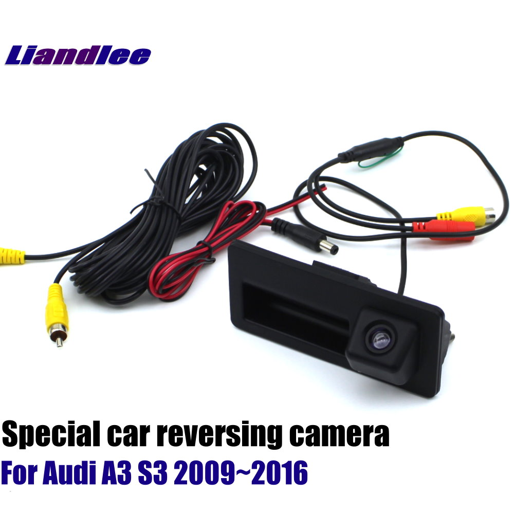 Liandlee For Audi A3 S3 2009 2016 HD Decoder Box Player Rear Reverse Parking Camera Image Car Screen Upgrade Display Update in Vehicle Camera from Automobiles Motorcycles