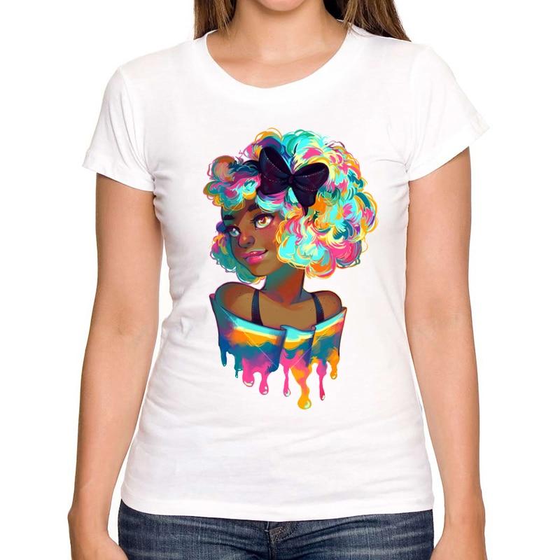2019 Beliebte Mode Damen T-Shirts Sommer neuesten gedruckten - Damenbekleidung - Foto 1