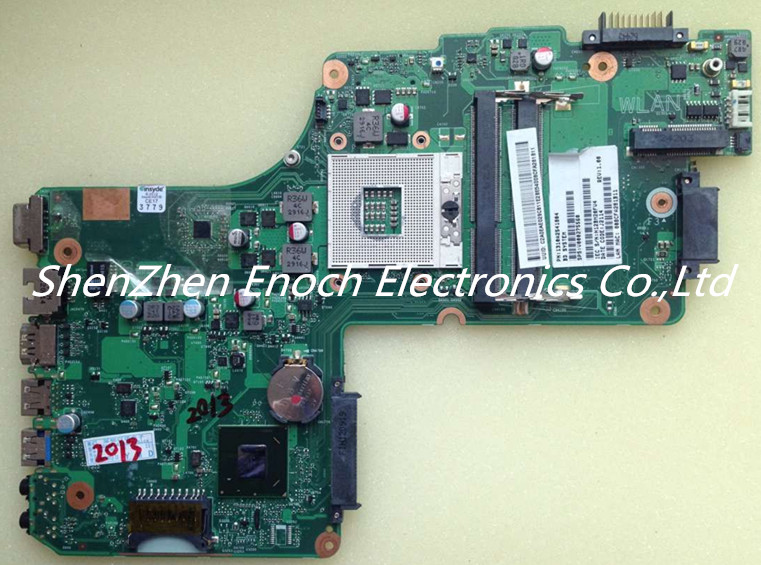 V000275560 for Toshiba satellite C850 C855 L850 L855 Laptop motherboard DK10F-6050A2541801-MB-A02 stock No.999