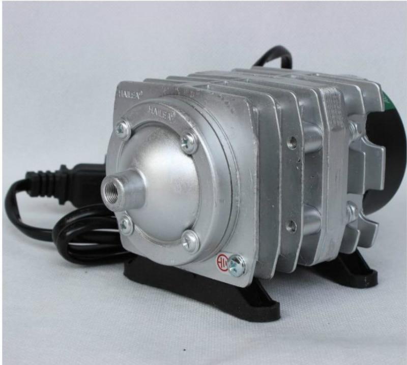 25/30w Electromagnetic Aquarium Air Compressor High power Fish Tank Oxygen Air Pump Fish Pond Aerator With Splitter Valve