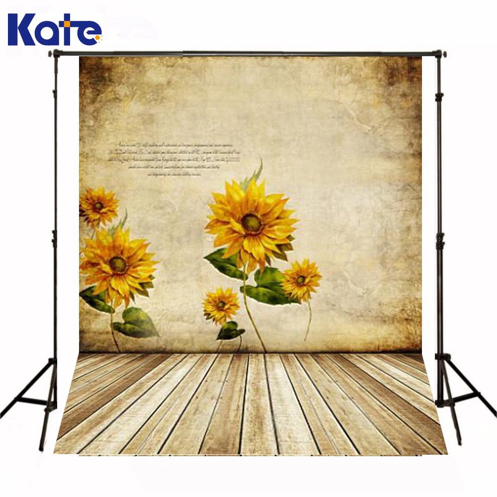 200CM*150CM backgrounds Sunflower mural alphabetical wood flooring photography backdrops photo LK 1314 215cm 150cm backgrounds blossom petals colorful colorful floral scent the air tricks slim co photography backdrops photo lk 1135