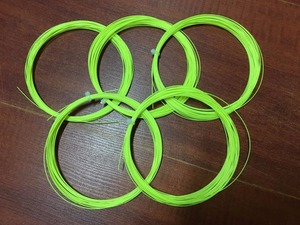 Image 3 - badminton string nanogy 99 racket string NBG 99 mix colors free shipping 5 pieces/lot
