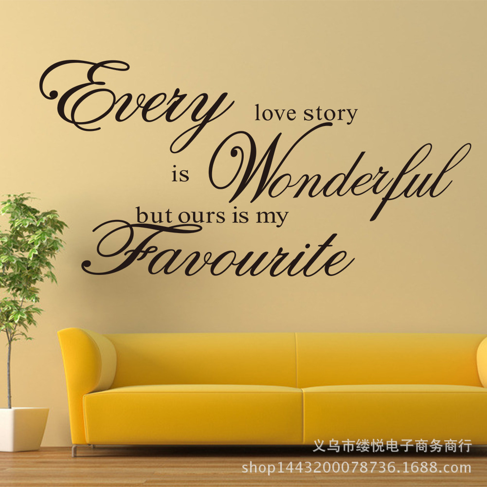 Dorable Wording For Walls Decorating Motif - The Wall Art ...