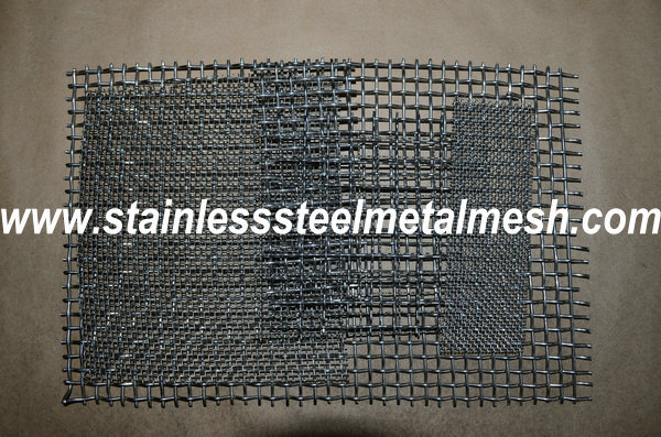 Stainless Steel Rectangular Opening Crimped Mesh