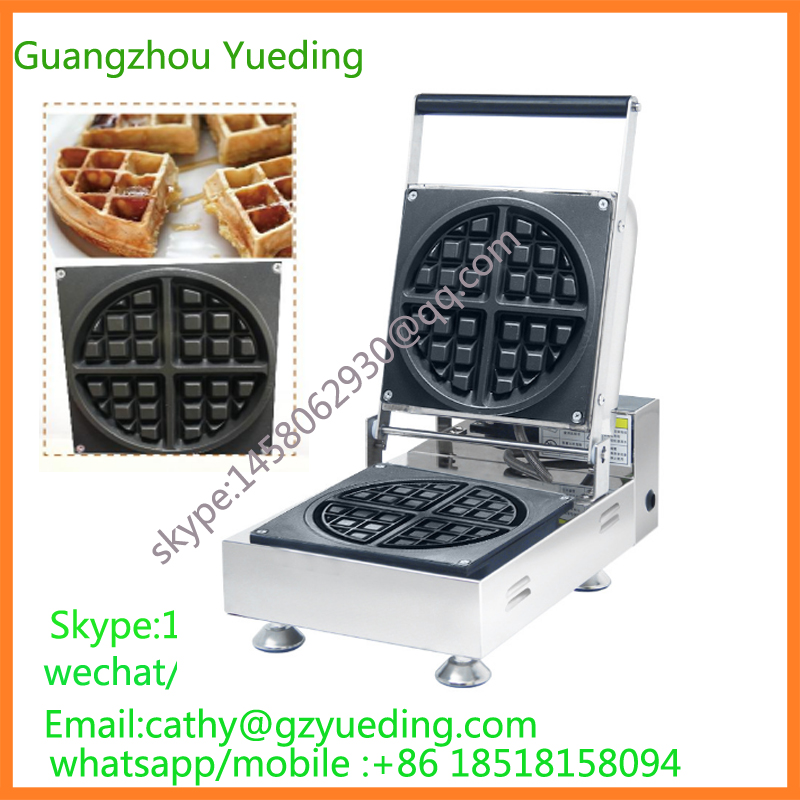 Commercial Non-stick 110v 220v Electric Belgian Liege Waffle Maker liege waffle iron mini bubble waffle machine 110v 220v electric belgian liege waffle baker maker machine iron page 3