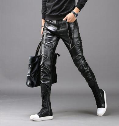 Automne hiver personnalité stade harem pantalon mens pantalon pantalones hombre plus zipper pieds pantalons pour hommes pantalon homme noir