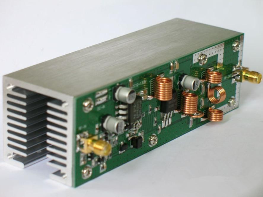 New arrival 15w RF power amplifier FM Amplifier / FM radio module 87-108MHz with heatsink professional 87 108mhz dsp
