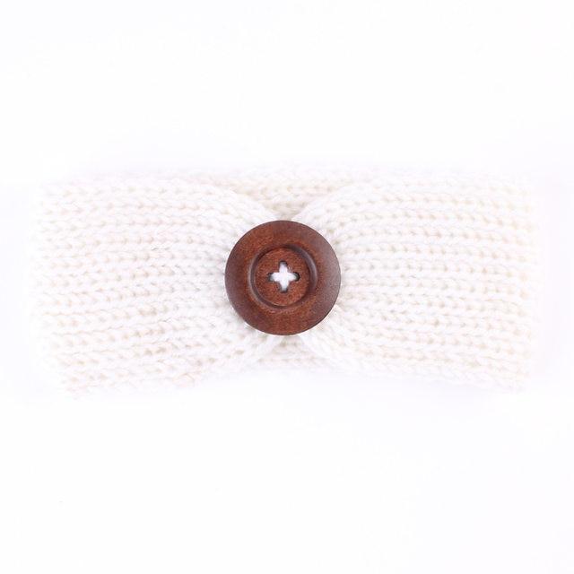 Tienda Online 1 unid muchacha encantadora Botones crochet turbante ...