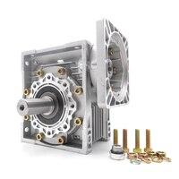 New Worm Gearbox Ratio 50 1 NMRV040 Worm Gear Speed Reducer For NEMA24 Stepper Motor