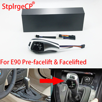 For BMW 3 series 2006 2011 E90 Pre facelift & Facelifted LHD Automatic Updated Look LED Gear Shift Knob Car Parts