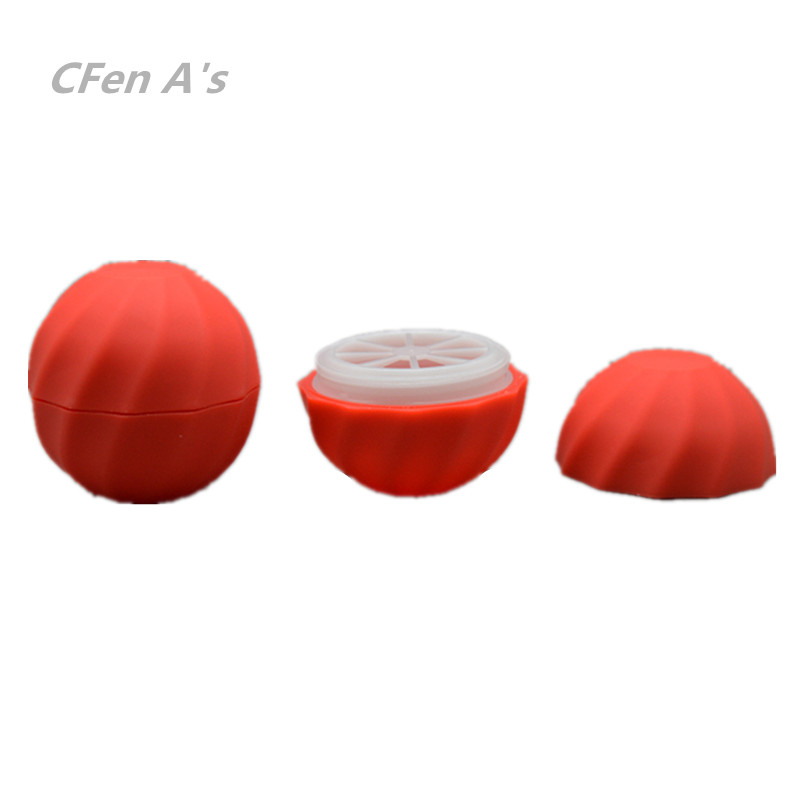 CFen A s 7g Lip balm container ball empty bottles refillable cosmetic containers cream jars DIY