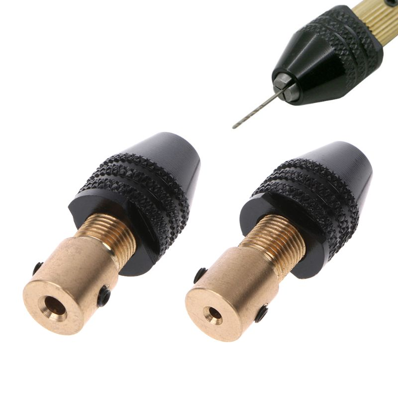 0.3-3.5mm Universal Small Electronic Drill Bit Collet Mini Chuck Tool Set Fixture Clamp -hol
