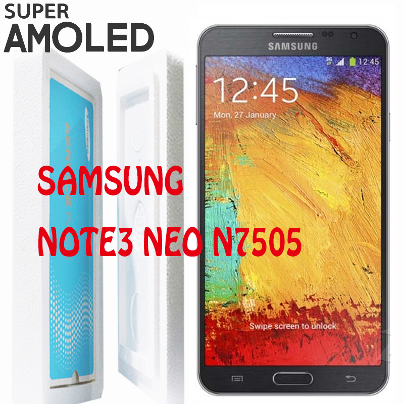ORIGINAL 5 5 LCD with Frame for SAMSUNG Galaxy Note3 Note 3 Neo Mini Lite N7505
