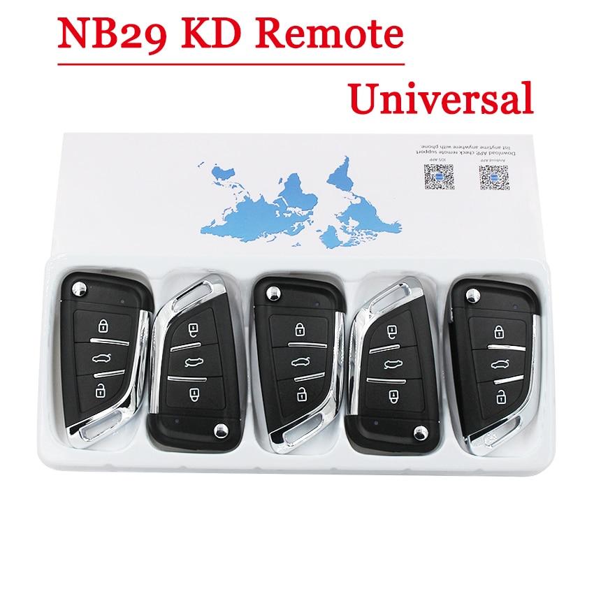 Free shipping 5pcs lot Multi functional KEYDIY NB29 3 button Remote key for KD900 KD900 URG200