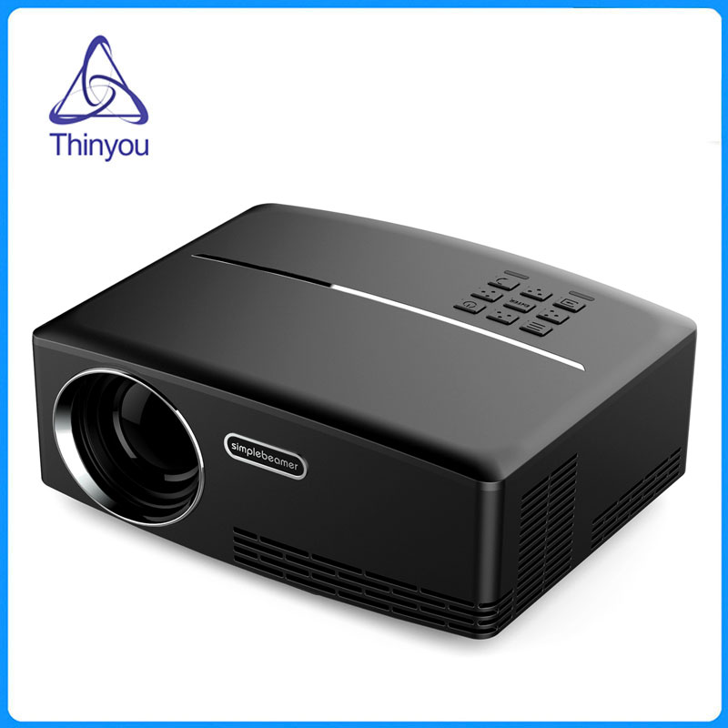 Thinyou Portable Mini Projector 800*480 HDMI USB Led Projector Proyector Home Theater Movie Media Player Projetor Multimedia mini portable multimedia player dvd player home theater projector led proyector
