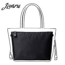 Купить с кэшбэком Women Makeup Bag Organizer Insert Ultra-light Travel Handbags Inner Bag Traveling Multi-functional Makeup Insert Bag in Bags