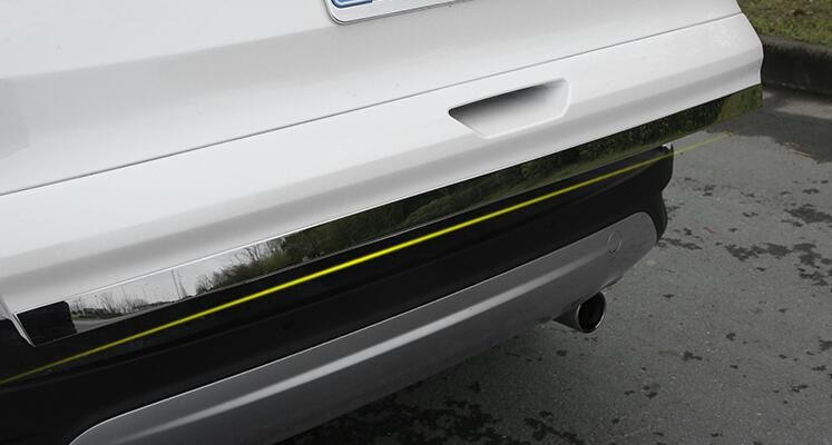 Car Styling Chrome Rear Trunk Door Cover Tailgate Lid Trim Molding Strip For Ford Escape Kuga 2013 2014 2015 2016 2017 2018
