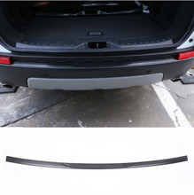 цена на Stainless Steel Rear Bumper Protector Sill Scuff Plate For Land Rover Discovery Sport 2015-2018 Car Accessories