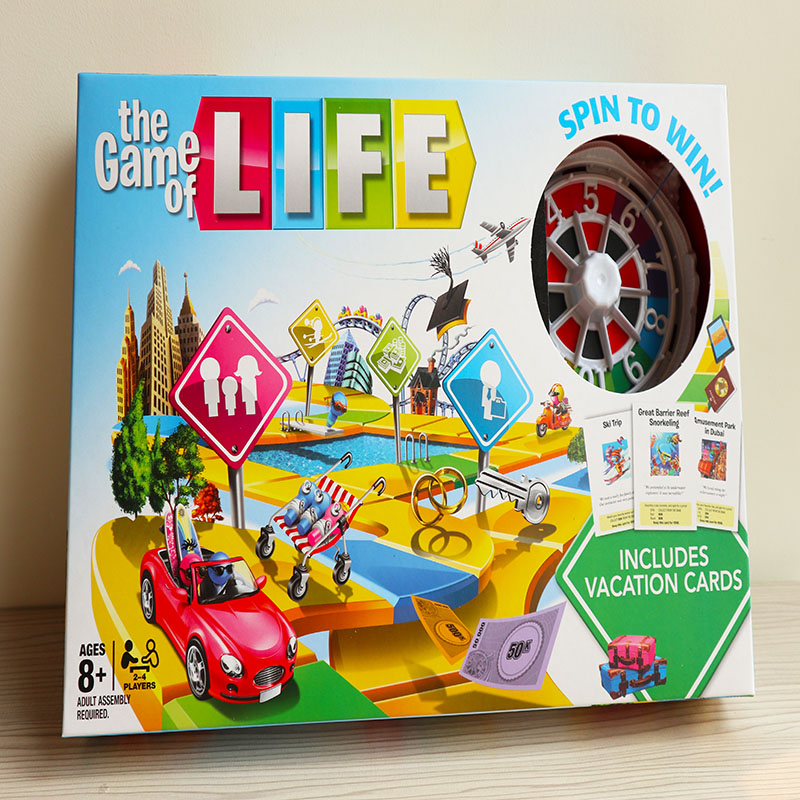 The Game of Life Adventures Card Game Family parent-child interaction Party Friends Funny Classic Strategy Board Game