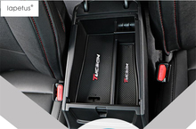 Черный! Аксессуары для Hyundai Tucson 2016-2018 на модель хранения паллет подлокотник контейнер держатель лотка Box молдинг крышки отделка