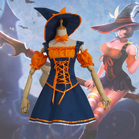 Fashion Games LOL The Bestial Huntress Female Leopard Nidalee Cosplay Costumes Halloween Fancy Witch Outfit