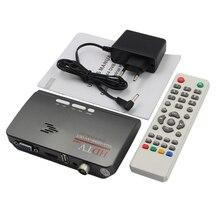 Marsnaska New DVB-T DVB-T2 reveiver Digital Terrestrial HDMI 1080P DVB-T/T2 VGA AV CVBS TV Tuner Receiver With Remote Control