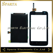For Lenovo A698T A698 Touch Screen Digitizer Panel LCD Display Panel Monitor Free Shipping