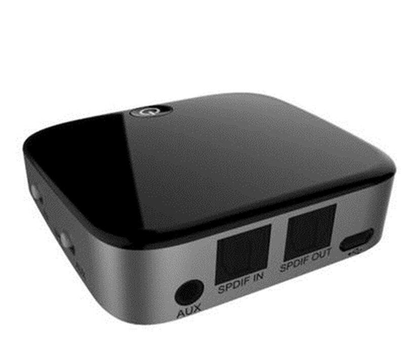 Émetteur récepteur 2 en 1 sans fil bluetooth adaptateur Aptx HD adaptateur optique Toslink/3.5mm AUX/SPDIF pour voiture TV haut-parleur