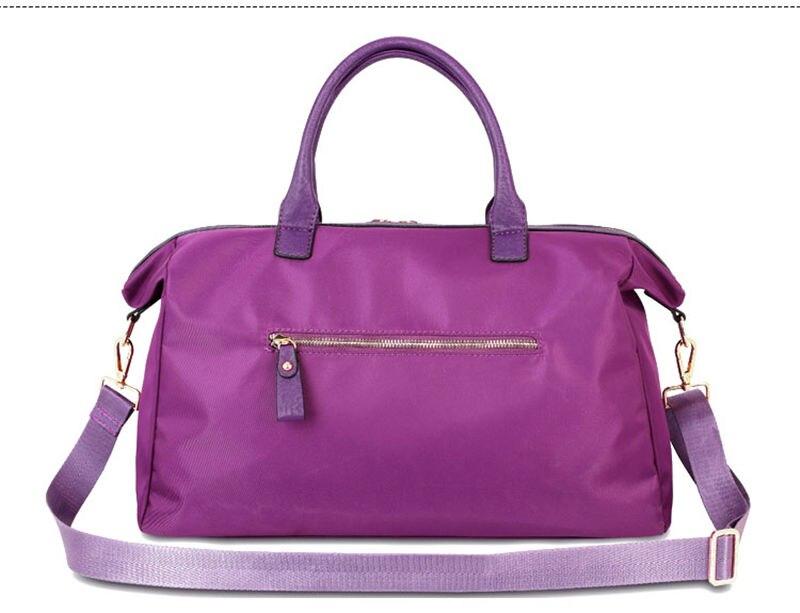 Women's Gym Bag For Fitness Handbags Tote Shoulder Sports Bags Outdoor Crossbody Pouch Short Journey Travel Tas Bolsa XA681-1WD