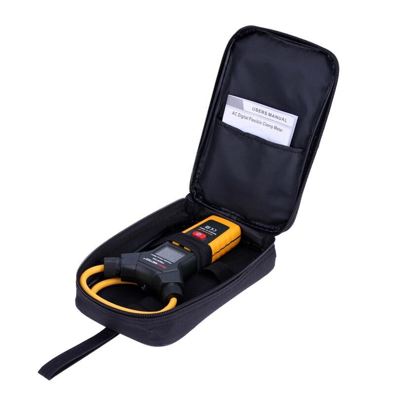 Multímetro LCD Digital Flexible pinza medidor AC pinzas de corriente herramienta de diagnóstico PEAKMETER amperométrico PM2019A - 5