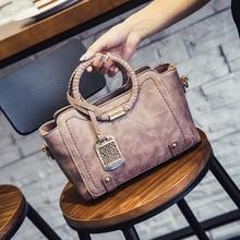 2016 Korean Fashion Handtasche Damen Handtasche Gesponnener Socken Retro Naht frauen Umhängetasche