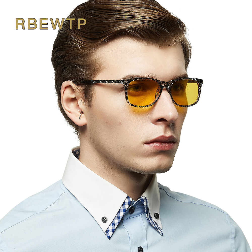 RBEWTP Unisex Blue Light Blocking Glasses led Reading Glasses Radiation-resistant Glasses Computer Gaming Glasses Frame Eyewear