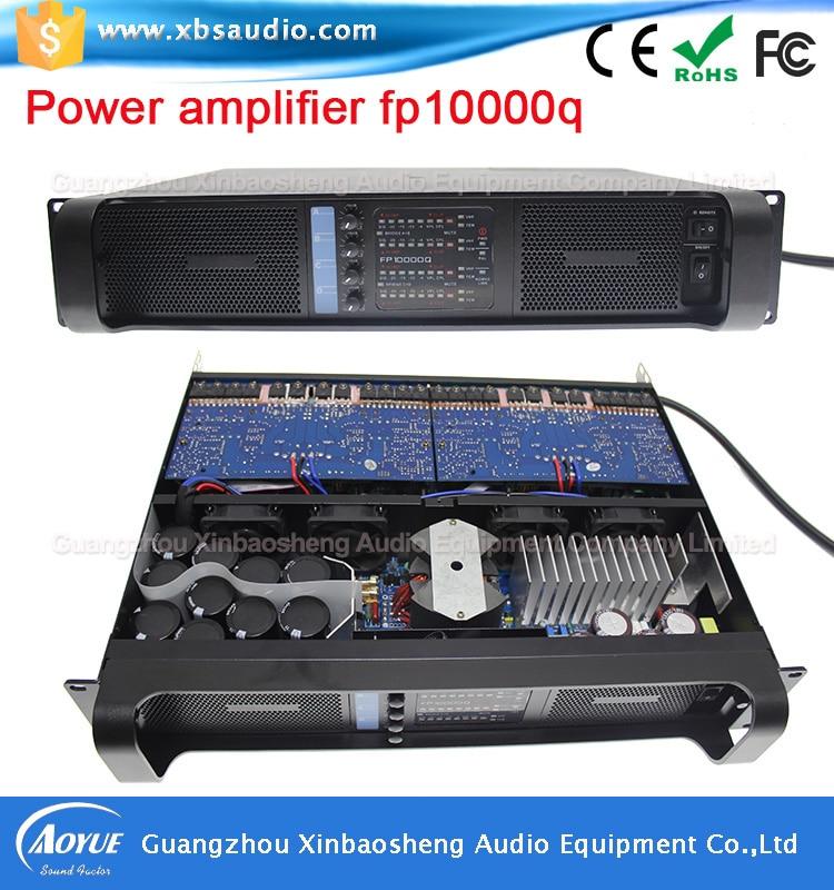 Grupen amplifier 4 channels dp10000q professional power amplifier factory